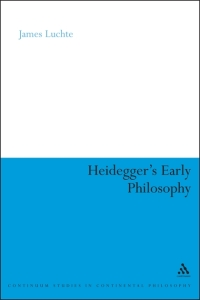 Heidegger'sEarlyPhilosophy