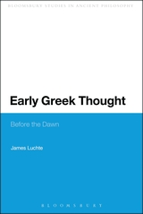 earlygreekthought
