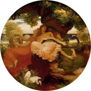 The Garden of the Hesperides - Leighton Frederick