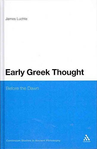 Early Greek Thought