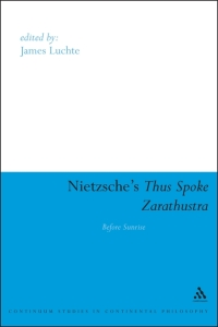 Nietzsche's Thus Spoke Zarathustra