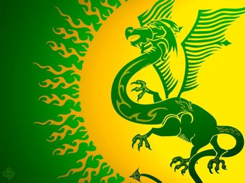 Green Dragon - Plaid Cymru