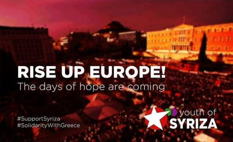 Rise Up Europe - Syriza Youth