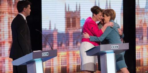 Ed Miliband and the Hug