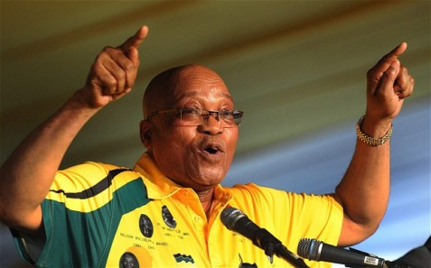 President Jacob Zuma of South Africa